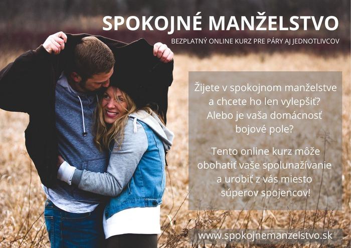 spokojné manželstvo - kurz